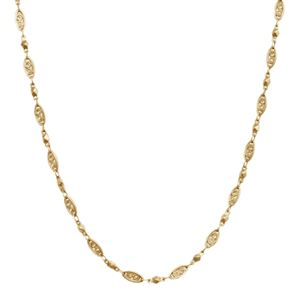 """Picture of Gold Natalie Chain: 16-19"""""""